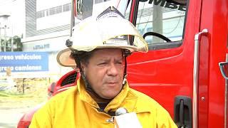 Se registró una fuga de gas en la construcción del intercambio vial La Ayurá - Telemedellín