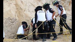 Hombre muere soterrado tras deslizamiento de tierra en Boca del Monte