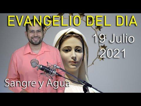 Evangelio Del Dia de Hoy - Lunes 19 Julio 2021- El Señor Peleara Por Ustedes - Sangre y Agua