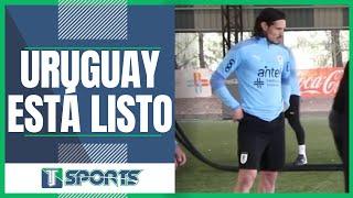 Tras CUMPLIR con el Manchester United, Edinson Cavani ya ENTRENA con Uruguay previo a Copa América