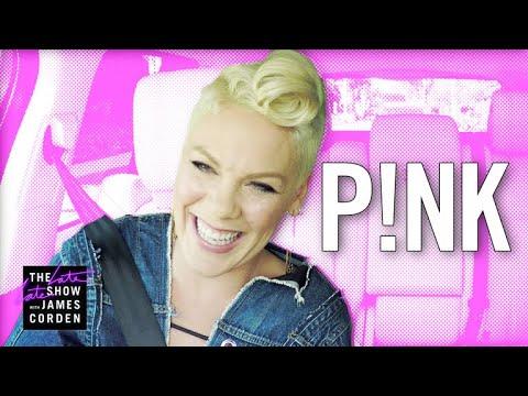 P!nk Carpool Karaoke