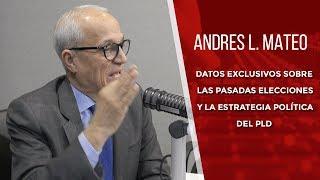Andrés L. Mateo revela datos sobre las pasadas elecciones y la estrategia política del PLD