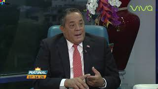 Emilio Toribio Director del Instituto Agrario Dominicano Matinal