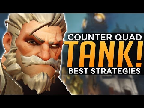 connectYoutube - Overwatch: How to Counter QUAD Tank! - BEST Strategies & Tactics
