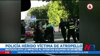 Policía herido víctima de atropello en Nicoya