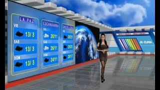 El Clima de Bolivisión: Pronóstico del 09 de abril del 2021
