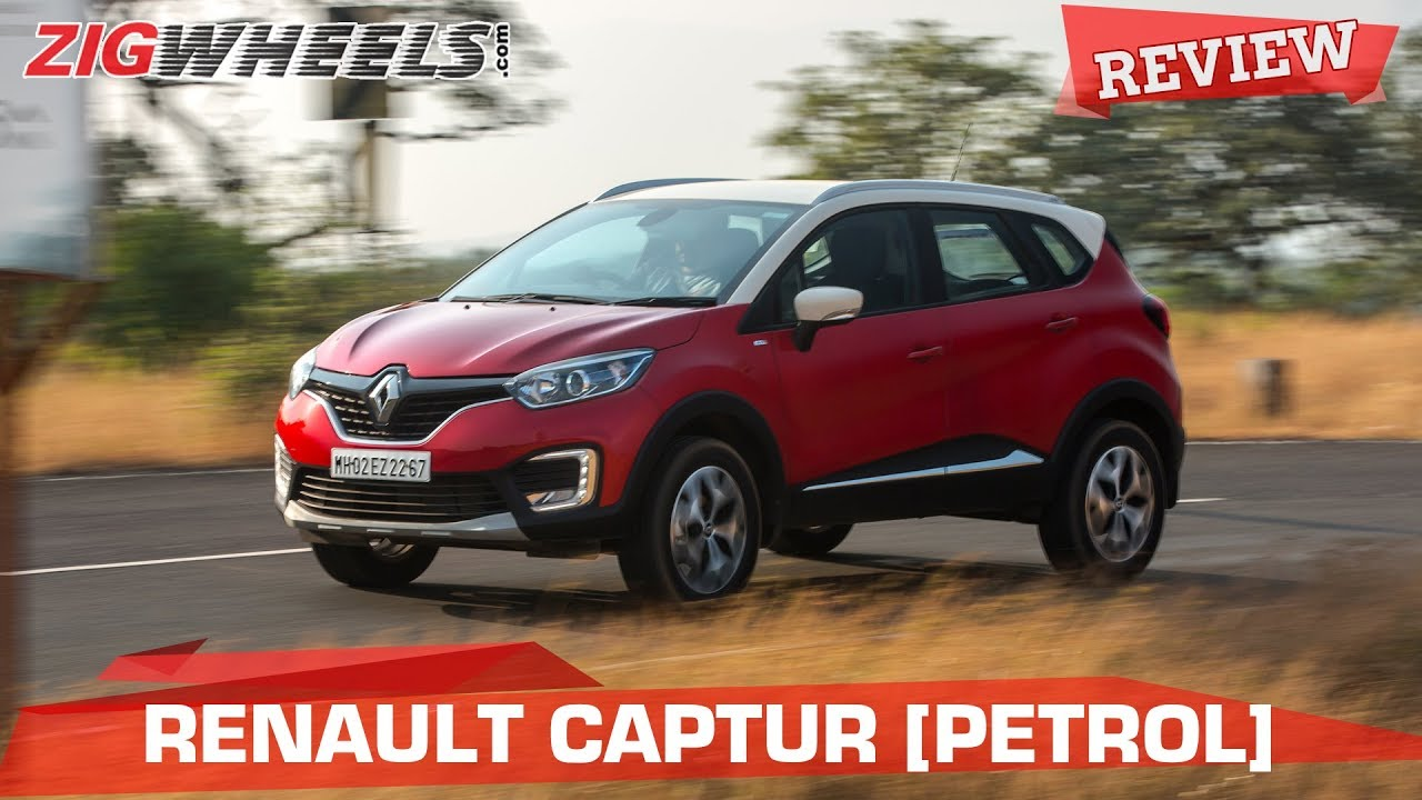 Renault Captur Petrol Review | In A Nutshell | Zigwheels.com