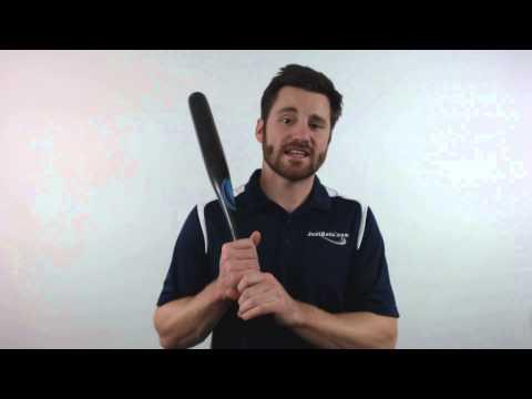 Zorian Maple One Hand Training Baseball Bat: RK-3 Black