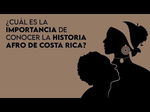 ¿Cuál es la importancia de conocer la historia afro de Costa Rica