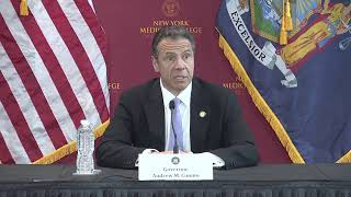 Governor Andrew Cuomo gives an update on the COVID-19 fight from New York City