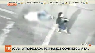 En riesgo vital joven arrollado por motociclista tras riña en Iquique