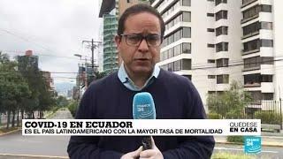 Covid-19, la vuelta al mundo de France 24: Ecuador cambia las reglas de semaforización en el país