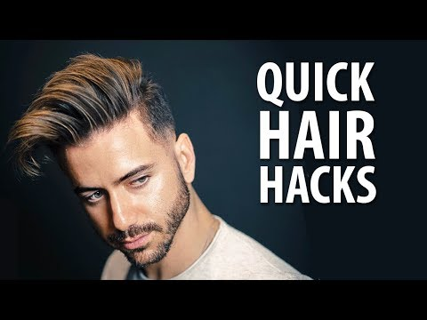 Hair Hacks When You're in a Rush | Quick and Easy Men's Hairstyle Hacks | Alex Costa