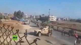 Fuerzas sirias prohíben el paso de un convoy estadounidense