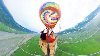 360度全景影片-熱氣球自由飛