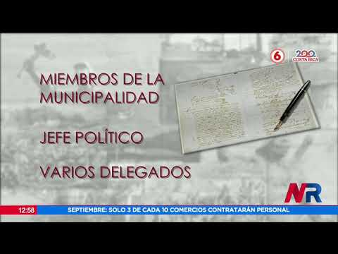 Acta de independencia describía una posible unión a México
