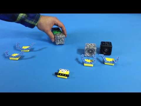 Cubelets Robot: Code-a-Pill-r
