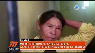 Bebé de un año y medio falleció tras recibir un golpe