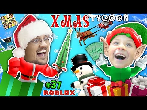 connectYoutube - ROBLOX CHRISTMAS TYCOON! FGTEEV Toy Factory @ the North Pole w/ Christmas Songs & Holiday Swords
