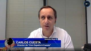 DEMOLEDOR CARLOS CUESTA:Sánchez lo tiene claro:Iglesias construye un estado comunista junto a Otegui