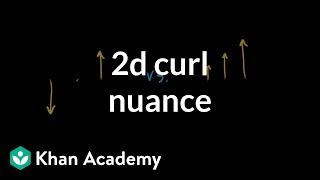 2d curl nuance