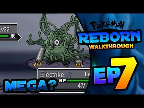 MEGA TANGROWTH!? - POKEMON REBORN GAMEPLAY WALKTHROUGH EPISODE 7!