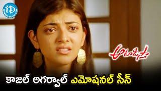 Kajal Aggarwal Emotional Scene | Aatadista Scenes | Nithiin | Naga Babu | Chakri | iDream Movies - IDREAMMOVIES