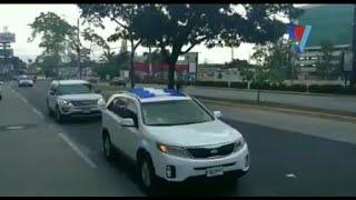 Médicos sampedranos se unen a caravana de protesta