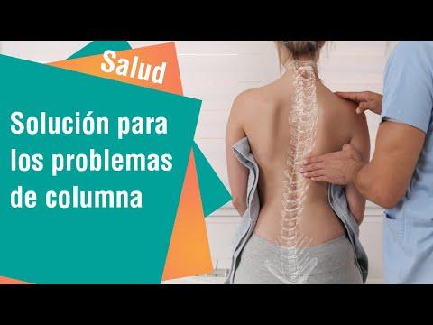 Solución para los problemas de la columna   Salud