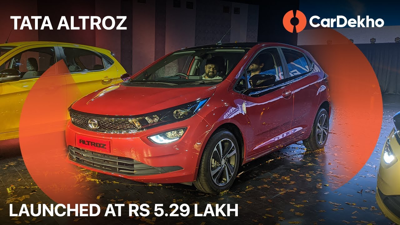 Tata Altroz Price Starts At Rs 5.29 Lakh! | Features, Engine, Colours and More! #In2Mins