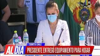 Gobierno Nacional entregó equipamiento a un hogar de niños en Santa Cruz