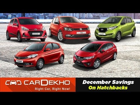 Best Year-End Hatchback Discounts & Offers On 2018 Tiago, redi-GO, Grand i10 & More | CarDekho.com