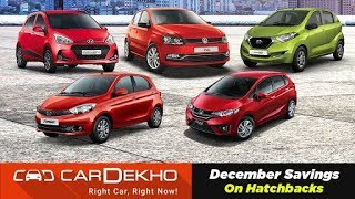 Best Year-End Hatchback Discounts & Offers On 2018 Tiago, redi-GO, Grand i10 & More | CarDekho.com