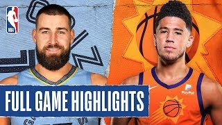 GRIZZLIES at SUNS | FULL GAME HIGHLIGHTS | January 5, 2020