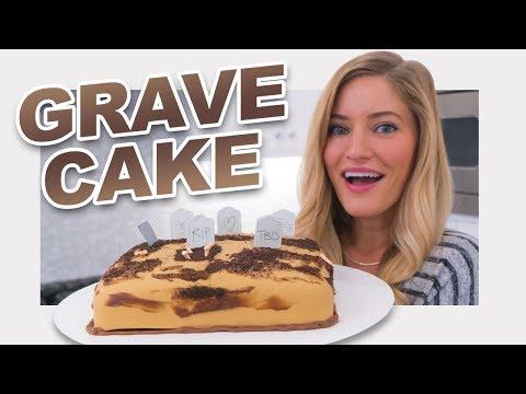 connectYoutube - 💀 Halloween Grave Yard Cake!