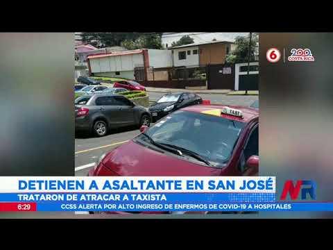 Detienen a asaltantes en San José