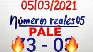 NÚMEROS PARA HOY 05/03/21 DE MARZO PARA TODAS LAS LOTERÍAS...!! Números reales 05 para hoy....!!