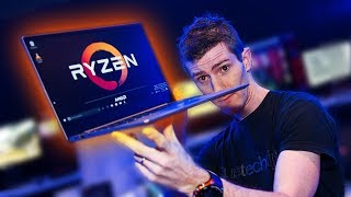 Thin and Light Laptop with AMD INSIDE!?