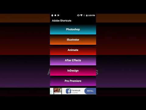 Shortcuts For Adobe 1 1 Download APK for Android - Aptoide