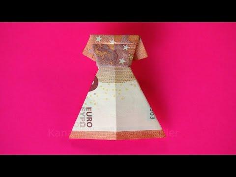 Geldscheine Falten Herz Einfaches Herz Aus Geld Falten Fur