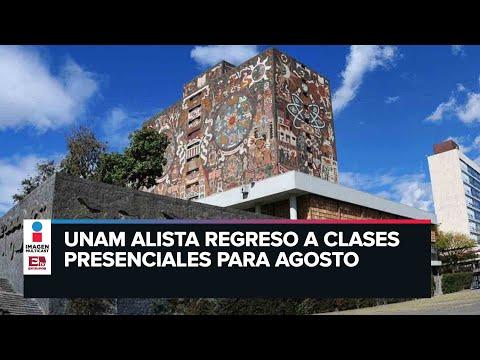 UNAM alista regreso a las aulas; apuesta por modelo híbrido de aprendizaje