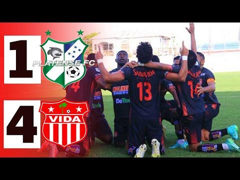 Platense 1-4 Vida   Resumen   Goles    Apertura 2021 - Jornada 8