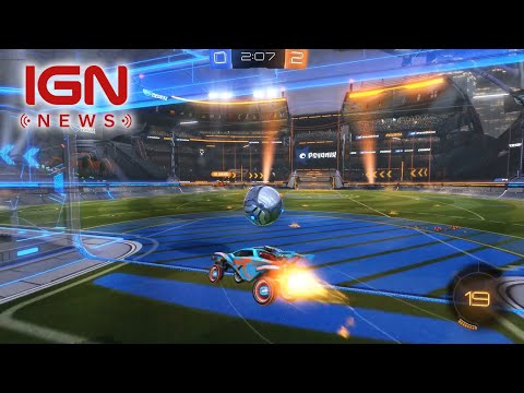 connectYoutube - Rocket League Tournaments Update Coming in April - IGN News