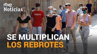 Más de 73 BROTES siguen ACTIVOS en ESPAÑA, se reparten en todas las Comunidades   RTVE Noticias
