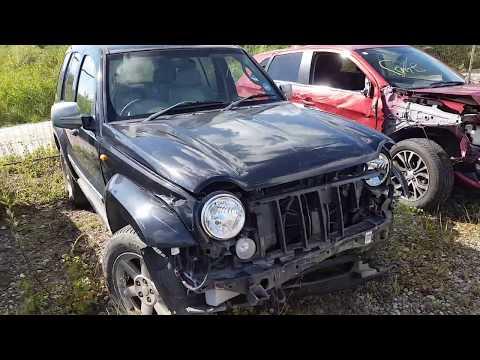 Jeep Cherokee 2005 m dalys