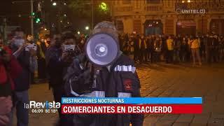 Comerciantes nocturnos de La Paz piden al alcalde dejarlos vender hasta las 23:00 horas