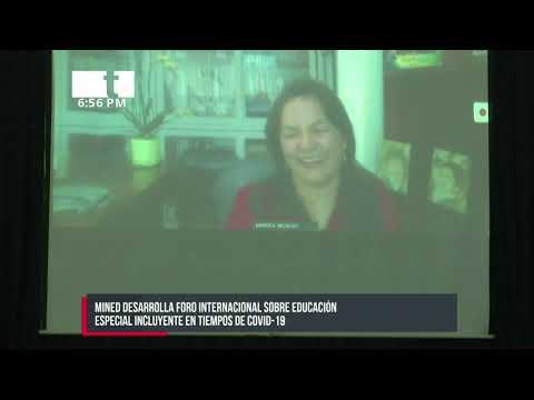MINED desarrolla foro sobre educación incluyente - Nicaragua