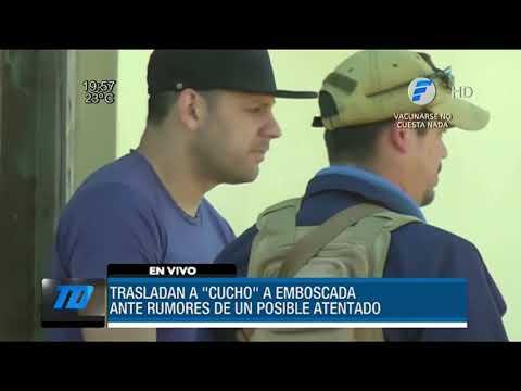 Trasladan a Cucho Cabaña por riesgo de atentado