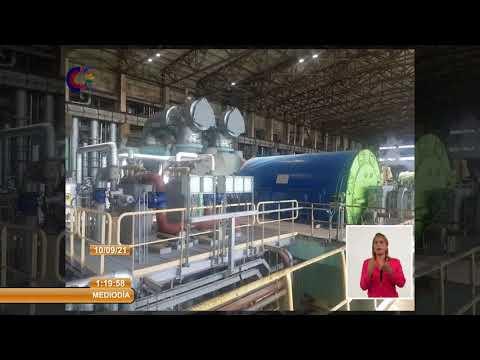 Sincronizan al Sistema Eléctrico de Cuba Bloque II de Termoeléctrica Máximo Gómez