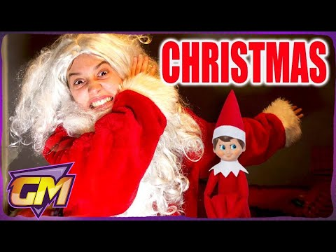CHRISTMAS DAY MESSAGE 2017 - With Elf On The Shelf, Santa, Family fun & crazy Christmas Songs!!